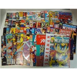 50 - SUPERHERO COMIC BOOKS JUSTICE LEAGUE, CLASSIC X-MEN