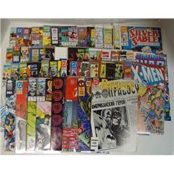 50 - MISC COMIC BOOKS BATMAN, CAGE, SPIDER-MAN