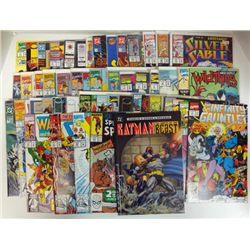 50 - MISC COMIC BOOKS THE MAXX, THE SPECTACOULAR SPIDER-MAN