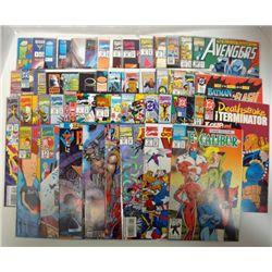 50 - MISC COMIC BOOKS WARLOCK & INFINITY WATCH, ARMAGEDDON