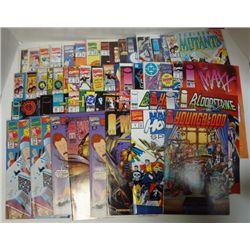 50 - MISC. COMIC BOOKS WETWORMS, REN & STIMPY