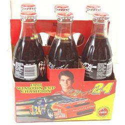 1995 Winston Cup Champion Coca-Cola Original Bottles with Jeff Gordon