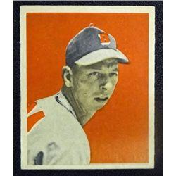 1949 BOWMAN #1  VERNON BICKFORD  ROOKIE  NM