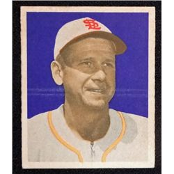 1949 BOWMAN #4   JERRY PRIDDY  NO NAME ON FRONT  EMT  ROOKIE