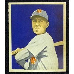 1949 BOWMAN #19  BOBBY BROWN  NM  ROOKIE