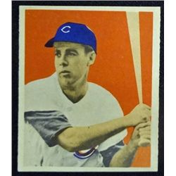 1949 BOWMAN #22  HARRY (P-Nuts) LOWREY  NM  ROOKIE