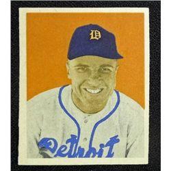 1949 BOWMAN #75  EDDIE MAYO  NM  ROOKIE