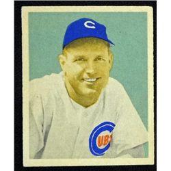 1949 BOWMAN #76  BILL NICHOLSON  EM  ROOKIE