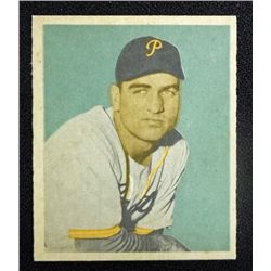 1949 BOWMAN #93  ED STEVENS  NM  ROOKIE