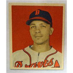 1949 BOWMAN #104  ED STANKY  NM  ROOKIE