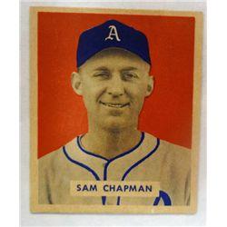 1949 BOWMAN #112  SAM CHAPMAN  NM