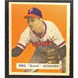 1949 BOWMAN #115  EMIL (Dutch) LEONARD  EM