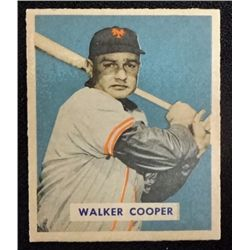 1949 BOWMAN #117   WALKER COOPER  NM