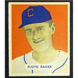 1949 BOWMAN #119  FLOYD BAKER  NM  ROOKIE