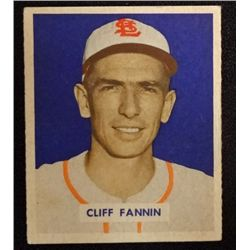 1949 BOWMAN #120  CLIFF FANNIN  EM  ROOKIE