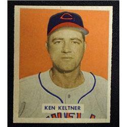 1949 BOWMAN #125  KEN KELTNER  NM
