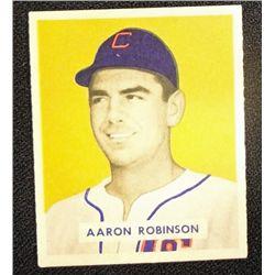 1949 BOWMAN #133  AARON ROBINSON  NM  ROOKIE