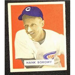 1949 BOWMAN #134  HANK BOROWY  NM  ROOKIE