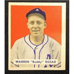 1949 BOWMAN #138  WARREN (Buddy) ROSAR  NM