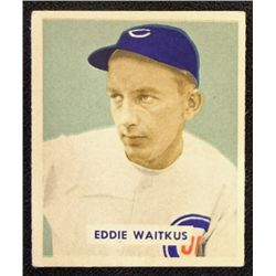 1949 BOWMAN #142  EDDIE WAITKUS  EM  ROOKIE