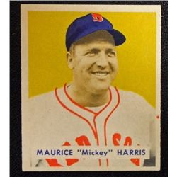 1949 BOWMAN #151  MAURICE HARRIS  NM  ROOKIE