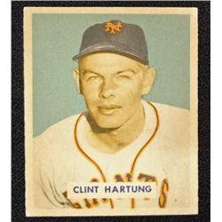 1949 BOWMAN #154  CLINT HARTUNG  NM