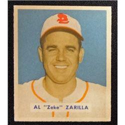 1949 BOWMAN #156  AL ZARILLA  NM  ROOKIE