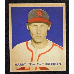 1949 BOWMAN #158  HARRY BRECHEEN  NM  ROOKIE