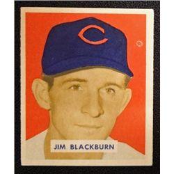 1949 BOWMAN # 160  JIM BLACKBURN  EM  ROOKIE