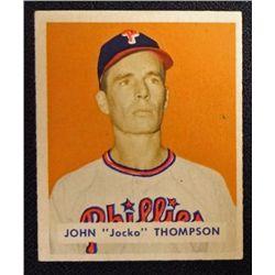 1949 BOWMAN #161  JOHN THOMPSON  NM  ROOKIE