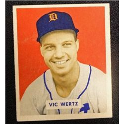 1949 BOWMAN #164  VIC WERTZ  NM  ROOKIE