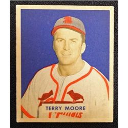 1949 BOWMAN #174  TERRY MOORE  NM  ROOKIE