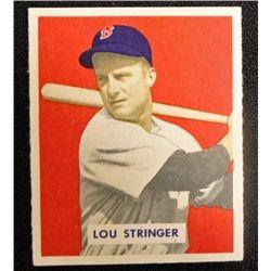 1949 BOWMAN #183  LOU STRINGER  NM+  ROOKIE