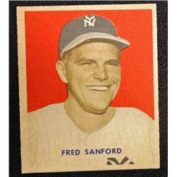 1949 BOWMAN  #236  FRED SANFORD  NM  ROOKIE