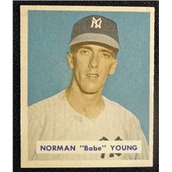 1949 BOWMAN #240  NORMAN (Babe) YOUNG  NM