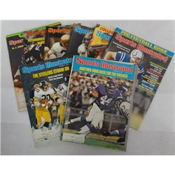8 - 1974 AND 1976 SPORTS ILLUSTRATED MAGAZINES,  O.J. SIMPSON