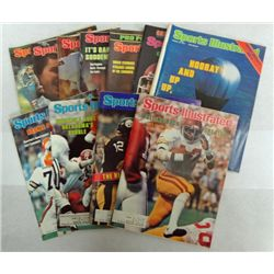 11 - 1978 SPORTS ILLUSTRATED MAGAZINES, R STAUBACH, E CAMPBELL and many more!