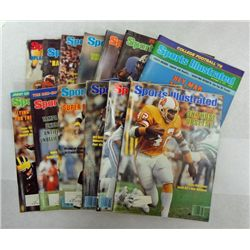 1979 and 1980 SPORTS ILLUSTRATED MAGAZINES,  BRADSHAW, K STABLER, SIMS & WHITE