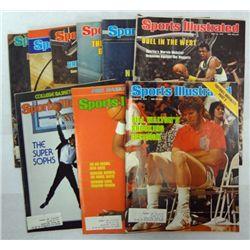 9 - 1978 SPORTS ILLUSTRATED MAGAZINES,  G BANKS, GIVENS, B WALTON, WEBSTER,.