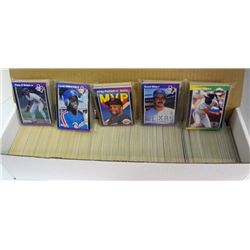 1226-1989 DONRUSS BASEBALL CARDS with HOFers, ROOKIES & STARS