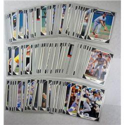 160-1991 LEAF BASEBALL CARDS with ROOKIES, HOF & STARS