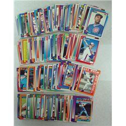 232-1990 TOPPS BASEBALL CARDS, MINT