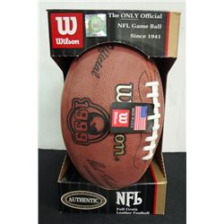 CLEVELAND BROWNS COMMEMORATIVE FOOTBALL