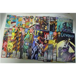 25-COMICS (Marvel & DC) 80's thru 2001. Cover Value $45.00