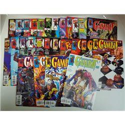 27- GAMBIT COMICS (Marvel) 1999 &2000 Cover Value $65.00.