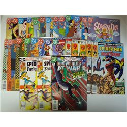 31-COMICS (Marvel, DC) 80's thru 2004 Cover Value $55.00.