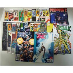 25-COMICS (Marvel, DC, & more) 1979 & 92 thru 2006 Cover Value $30.00.