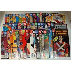 47-JUSTICE LEAGUE COMICS (Marvel) 2002-03-04-05 & --Oct 1984 & Dec1980