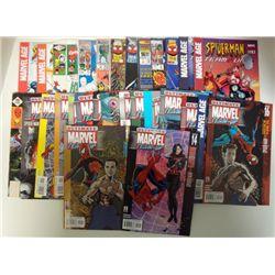 31-MARVEL COMICS - 2001-2005 & 1977-96 . COVER VALUE $65.00