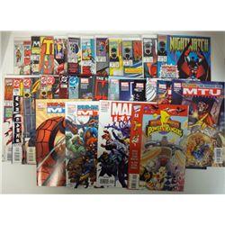 31-MARVEL & DC COMICS - 1977-2006 . COVER VALUE $65.00.